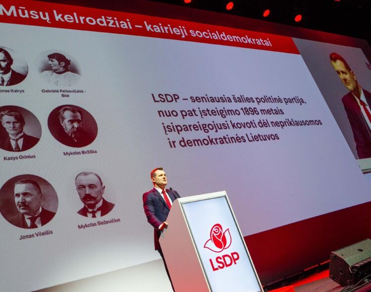 Socialdemokratai patvirtino kandidatus vienmandatėse apygardose (sąrašas)